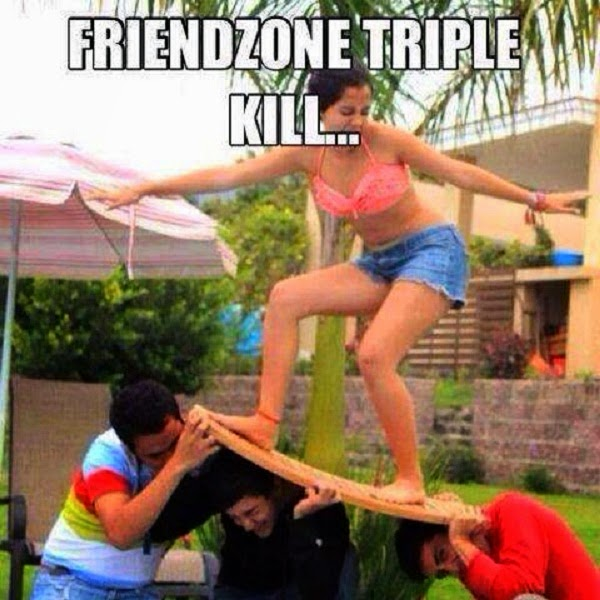Triple friendzone