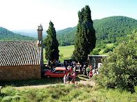 Avituallament a Sant Vicenç de Vilarassau