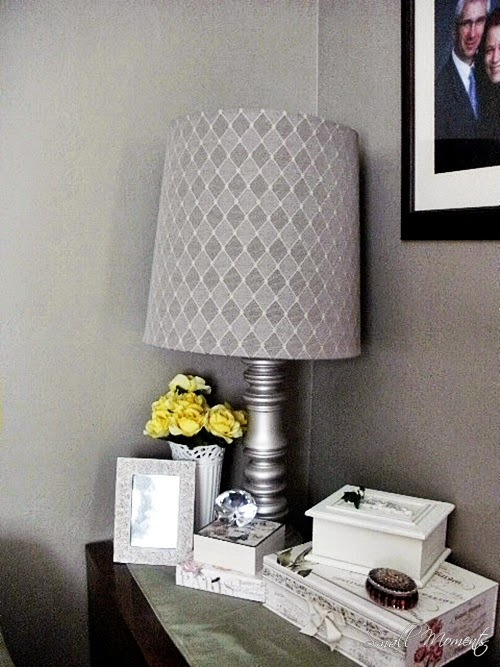 Small Moments:  Old Lampshade New Look