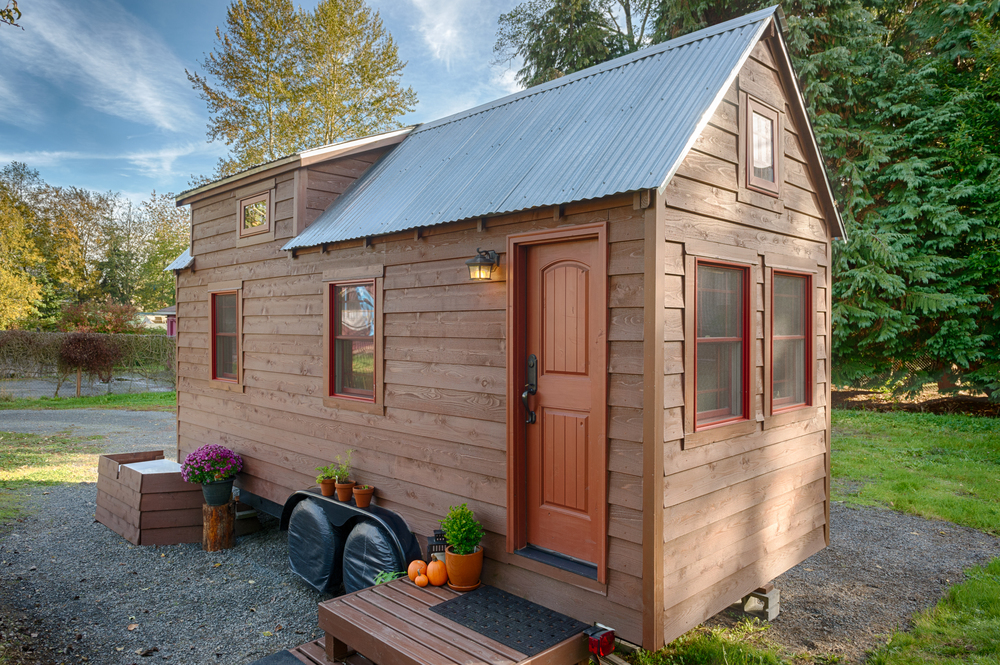 The Tack House a 140 SQ FT Tiny Home in Washington TINY HOUSE TOWN