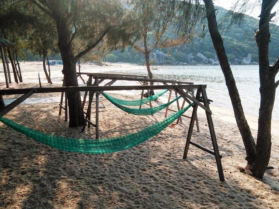 Cắm trại qua đêm ở Nha Trang