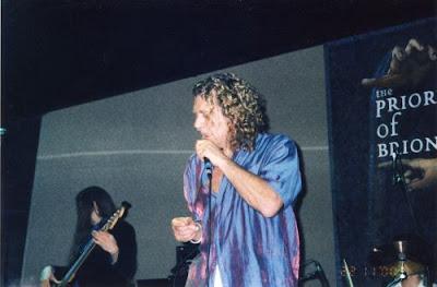 Μια μεγάλη μουσική φυσιογνωμία  και πρώην μέλος των Led  Zeppelin  ο Robert Plant στη Θεσσαλονίκη.