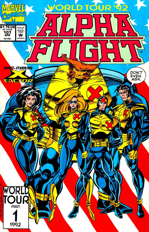 Alpha Flight (1983) 107 Page 1