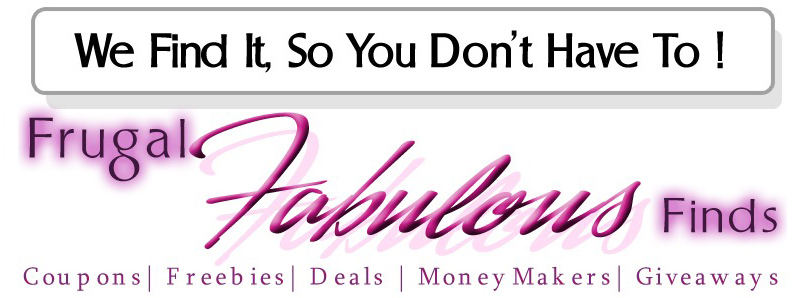 Frugal Fabulous Finds Blog - Coupons, Deals + More!