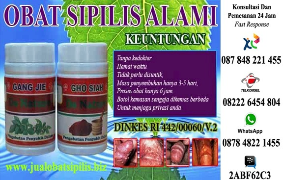 Obat Sipilis Herbal