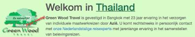 Nederlandse Tour operator in Bangkok