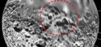 Alien Structures On Saturn&#39;s Moon Iapetus, Close Up. Paranormal News.