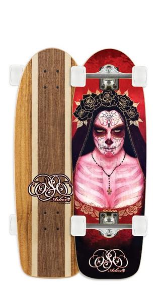 Calaveras, Dia de los Muertos y Skateboarding