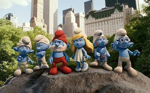 Los Pitufos - The Smurfs Movie (1920x1200px wallpaper)