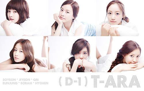 Biodata dan Foto T-ara Girlband Korea