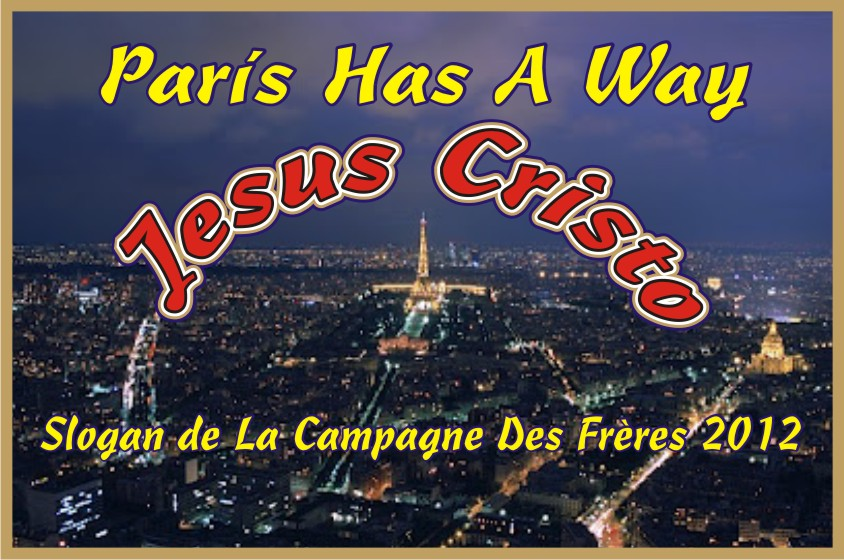 París Has A Way Jesus Christ