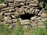 Detall del Molí d'Altimires