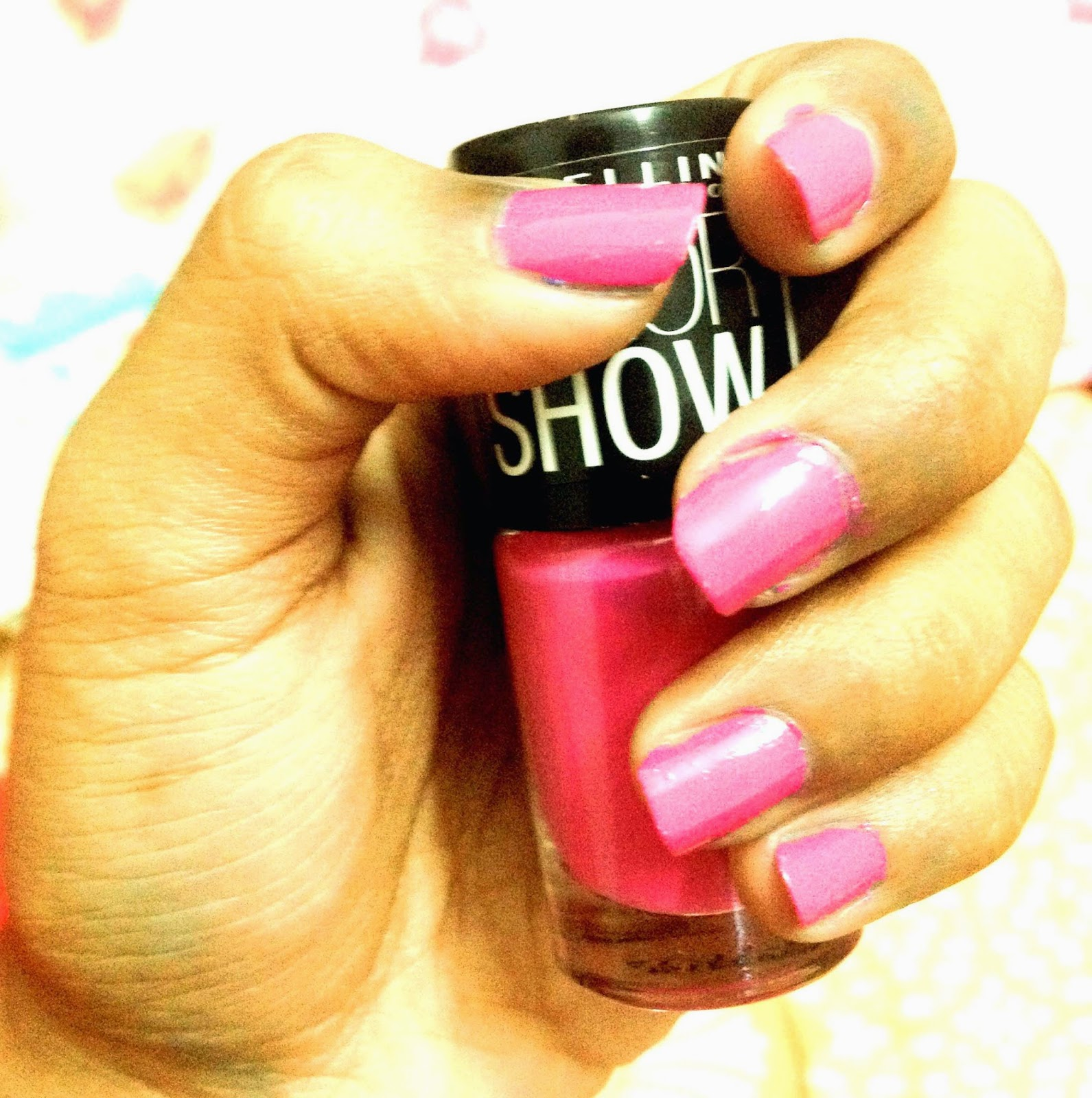 Maybelline ColorShow Review