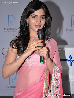 Samantha At GRT Jewellers Showroom Opening Photos