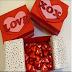 Hướng dẫn tự làm hộp quà Valentine đơn giản