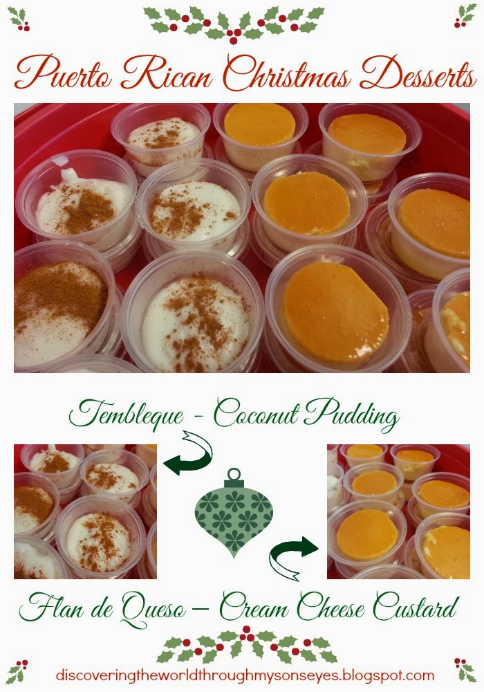 Category puerto rico food discovering the world through my sons eyes puerto rican christmas desserts tembleque and flan forumfinder Choice Image