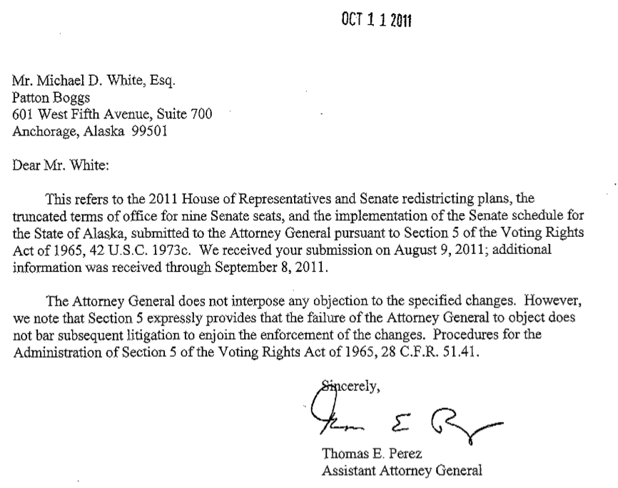 What do i know alaska redistricting board gets pre clearance alaska redistricting board gets pre clearance approval from doj pronofoot35fo Images