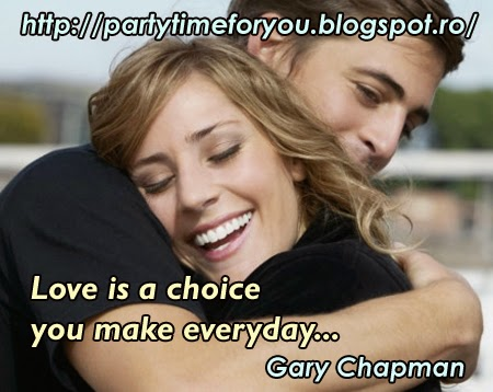 Love is a choice you make everyday...