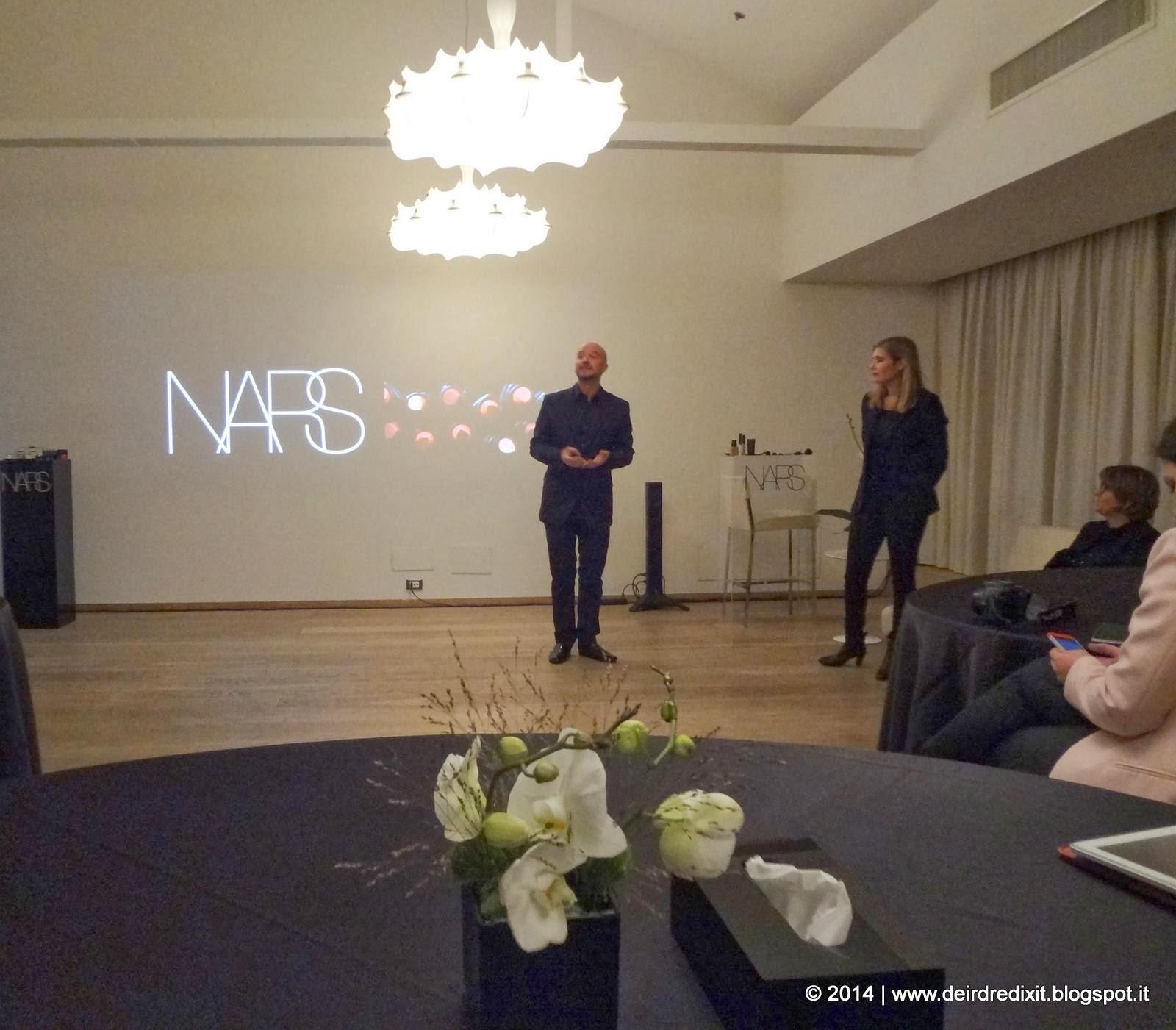 Claudio Fratoni, brand Manager Nars per l'Italia