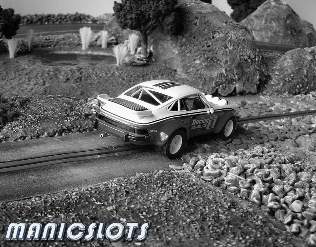 ManicSlots\' slot cars and scenery: HOW-TO: Rally Scenery Track Piece