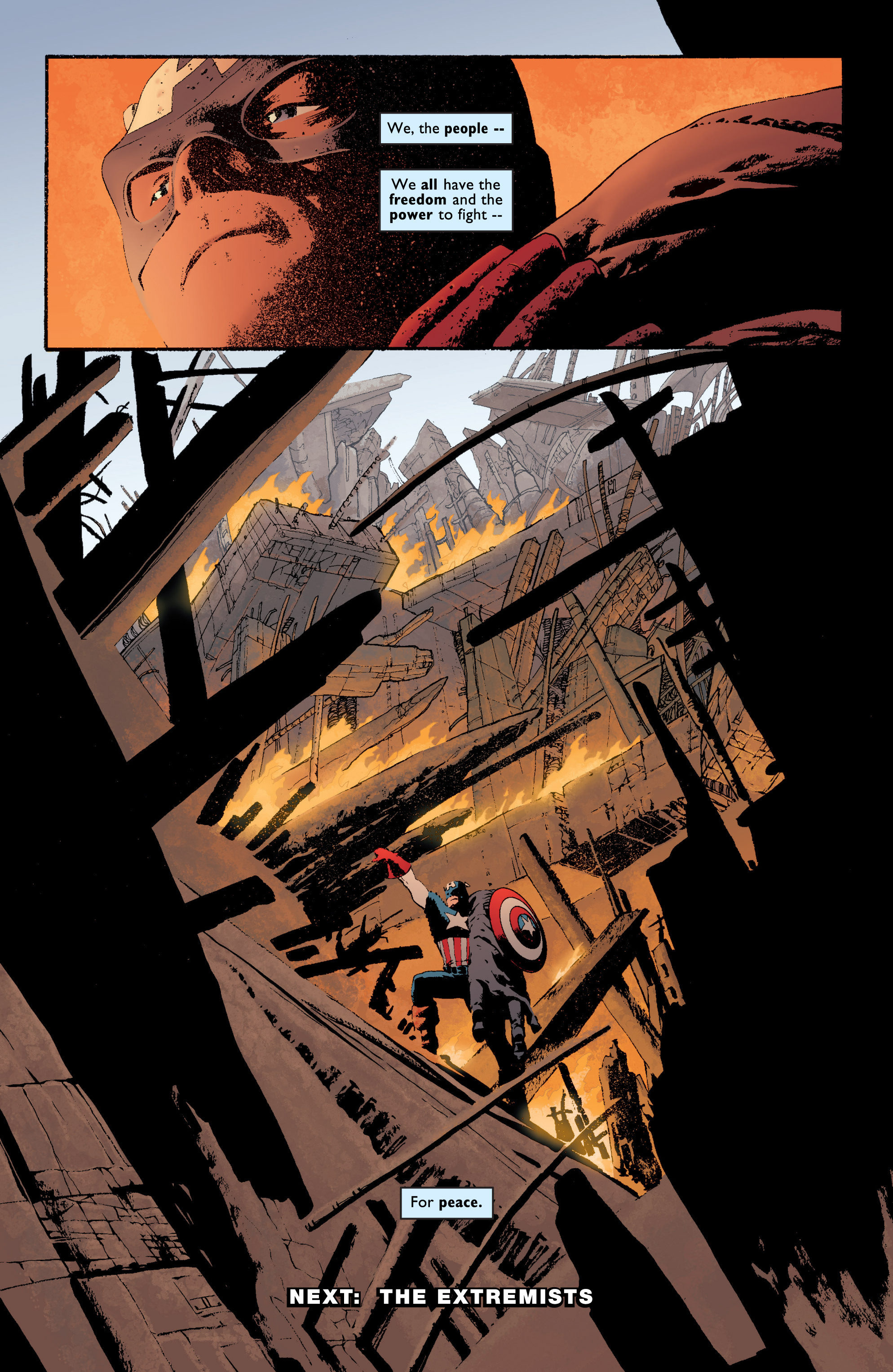 Captain America (2002) Issue #6 #7 - English 24