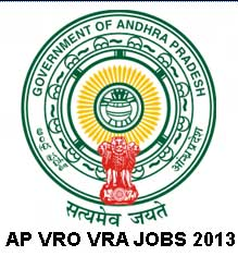AP  VRO/VRA Recruitment HallTicket Download 2013