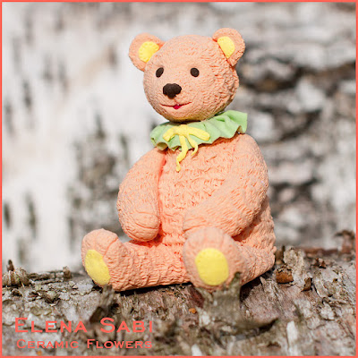 Teddy bear Deco Claycraft