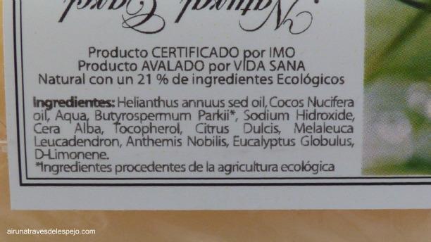 ingredientes manteca karité natural carol