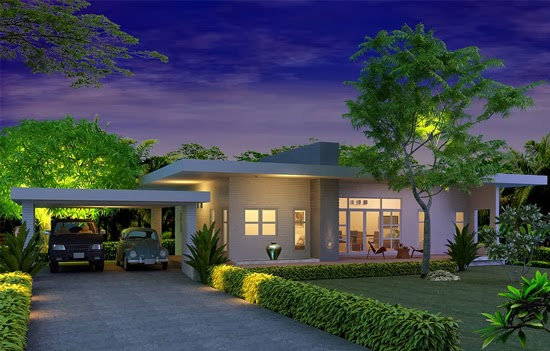 ... Modern Tropical House Plans & Contemporary Tropical, Modern Style in