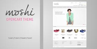 Moshi, Rsponsive Opencart Theme