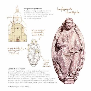 La mandorle de l'église Saint-Thibault