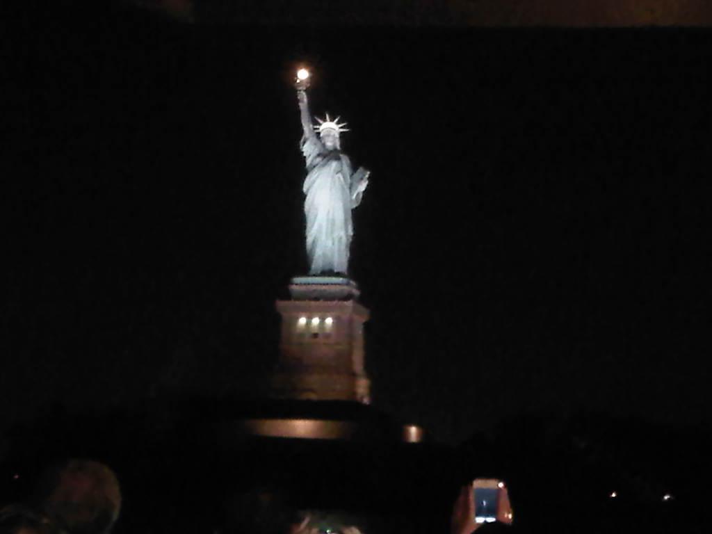 Statue Of Liberty At Night Time Encyclopedia: Liberty ...