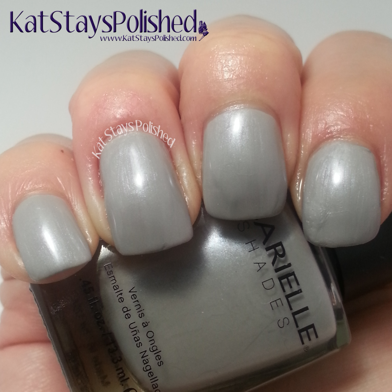 Barielle Gentle Breeze - Gray Sky | Kat Stays Polished