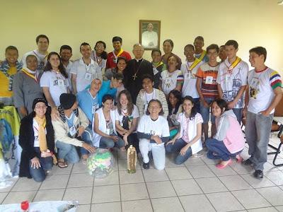 Diocese de Garanhuns(PE) acolhe encontro de formação para coordenadores de IAM e JM