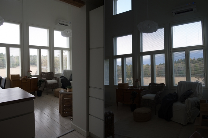 lightroom kuvankäsittely, vastavaloon kuvaaminen, valojen nostaminen