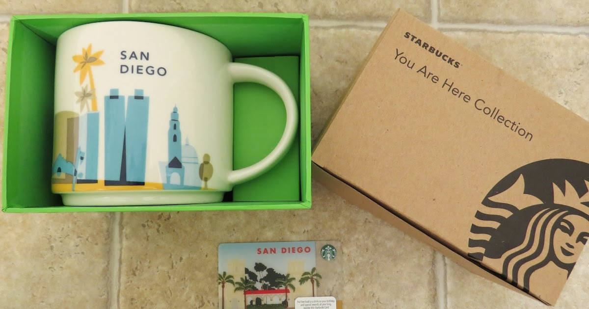 starbucks you are here collection mug san diego it has grown on me. Black Bedroom Furniture Sets. Home Design Ideas