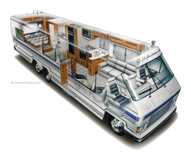 Que tal uma casa sobre rodas, dentro da estrutura de um ônibus?