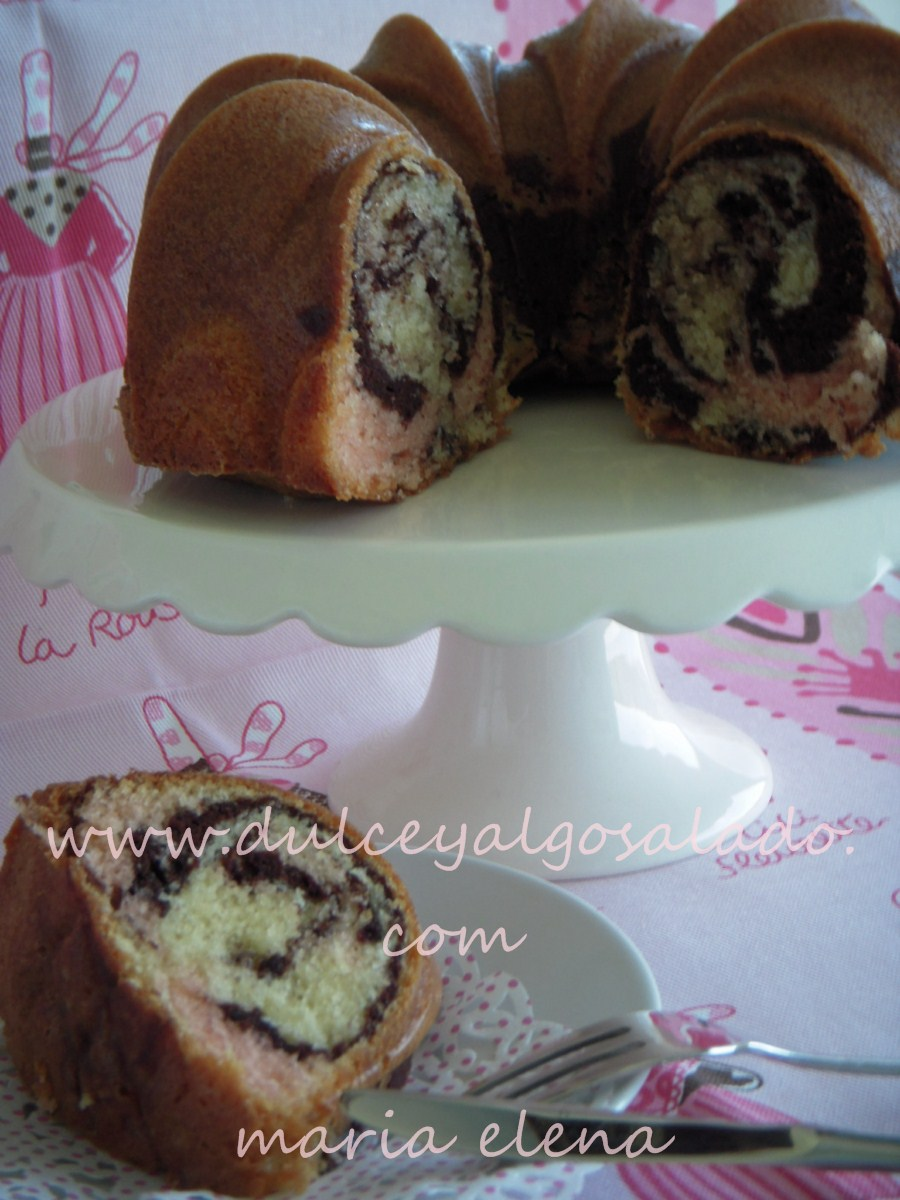 Neapolitan Marble Cake Recipe