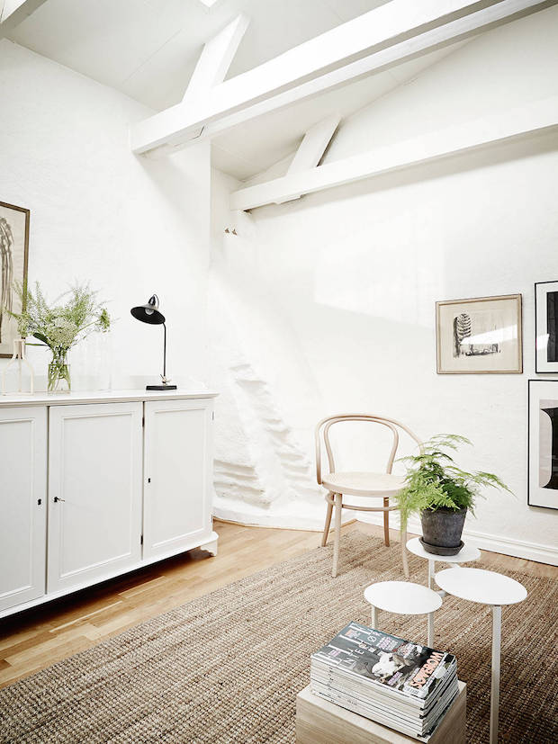 My Scandinavian Home A Calm Swedish Space High Up In The Rooftops