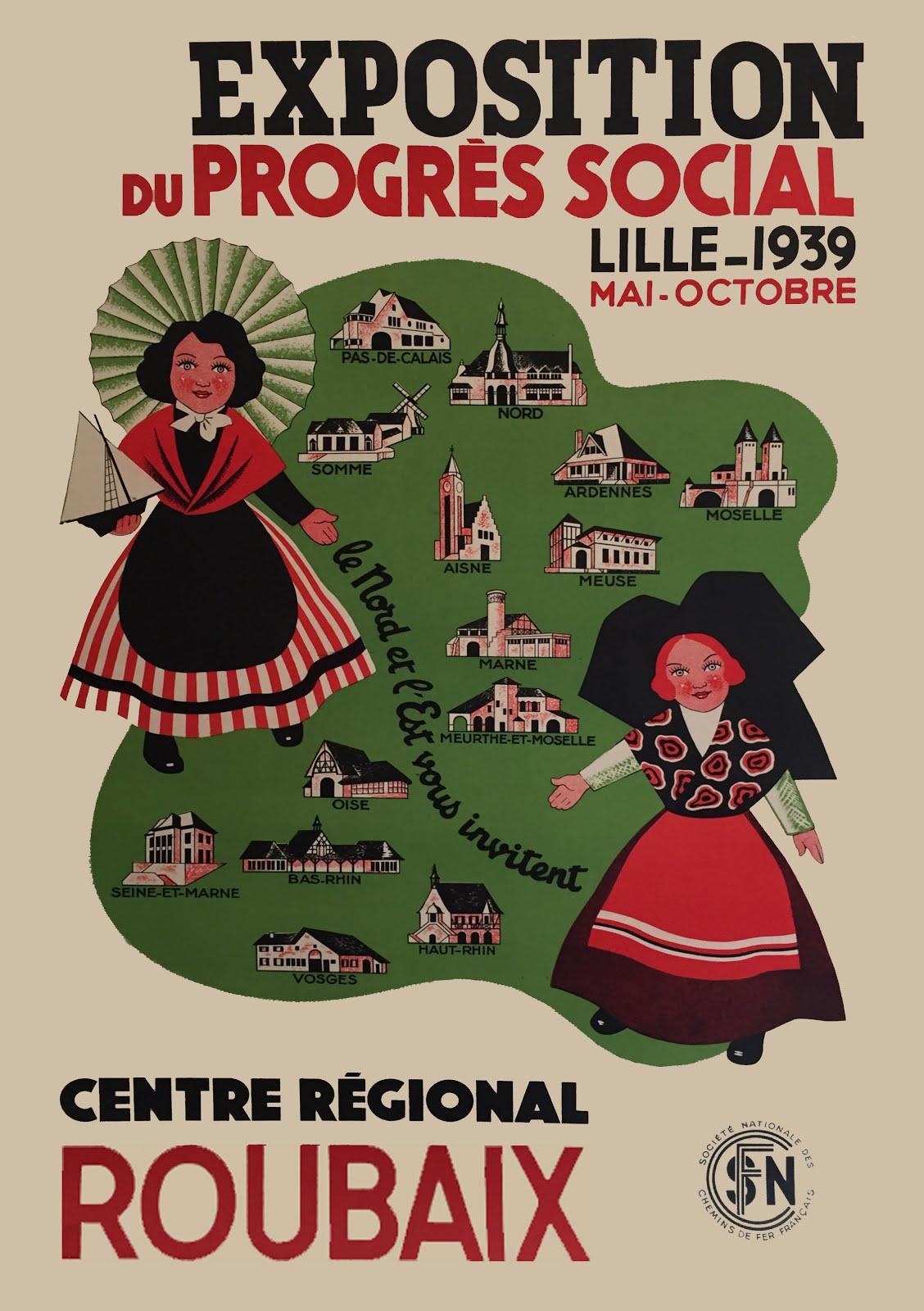Affiche de Roubaix