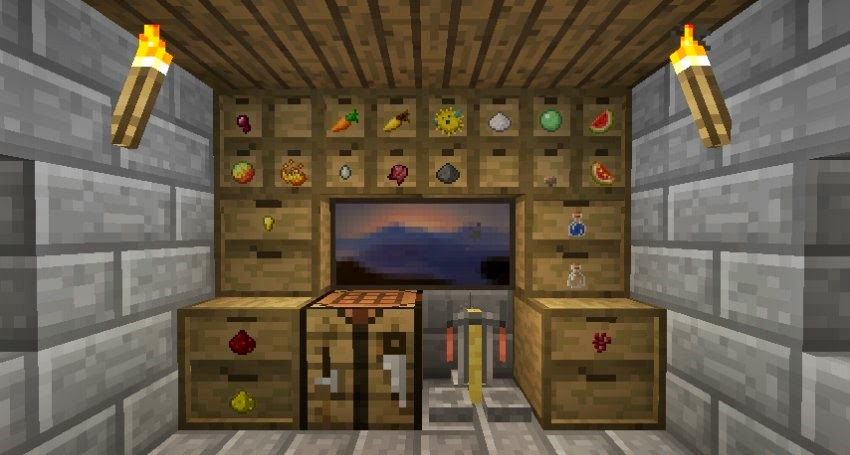 Storage Drawers Mod Para