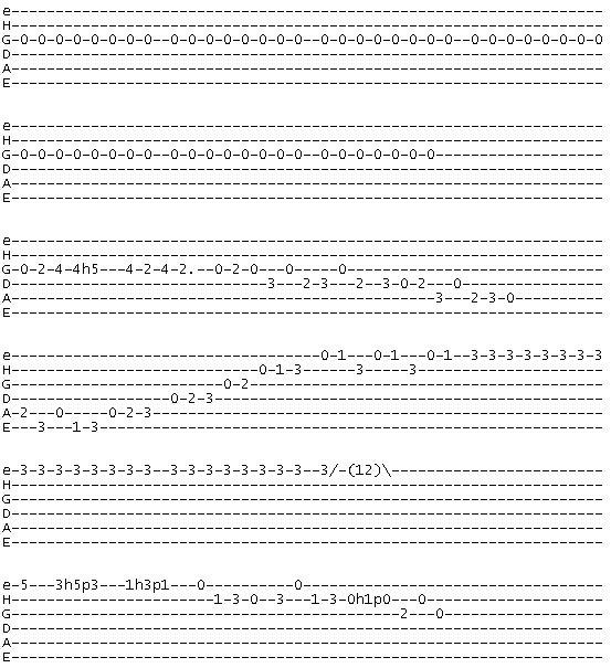 Guitar u00bb La Bamba Guitar Tabs - Music Sheets, Tablature, Chords and Lyrics