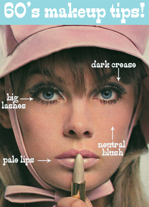 Oh So Lovely Vintage 60 S Makeup Tips