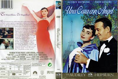 Cover, Dvd, Carátula: Una cara con ángel | 1957 | Funny FaceUna cara con ángel | 1957 | Funny Face