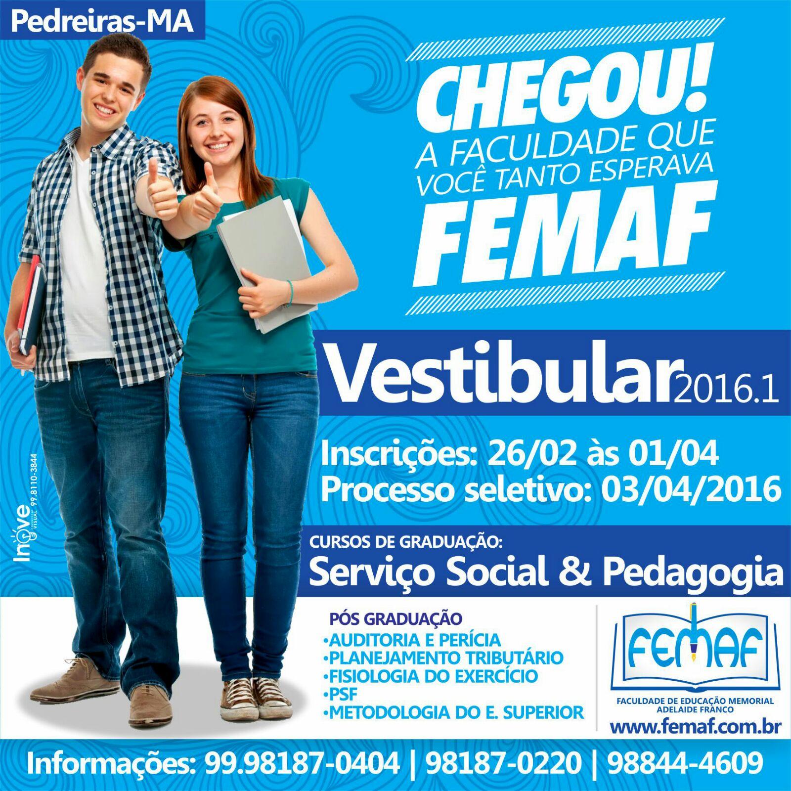 FEMAF - PEDREIRAS - MA