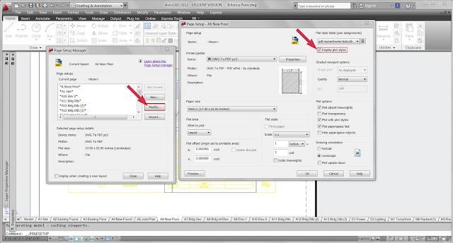 how to show grid paper in autocad