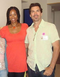 Kim Wayans and Hubby
