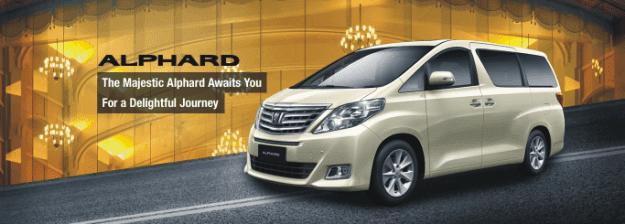 Sewa Mobil Alphard Surabaya