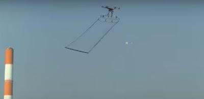 Drone περιπολικά στην Ιαπωνία συλλαμβάνουν άλλα drone