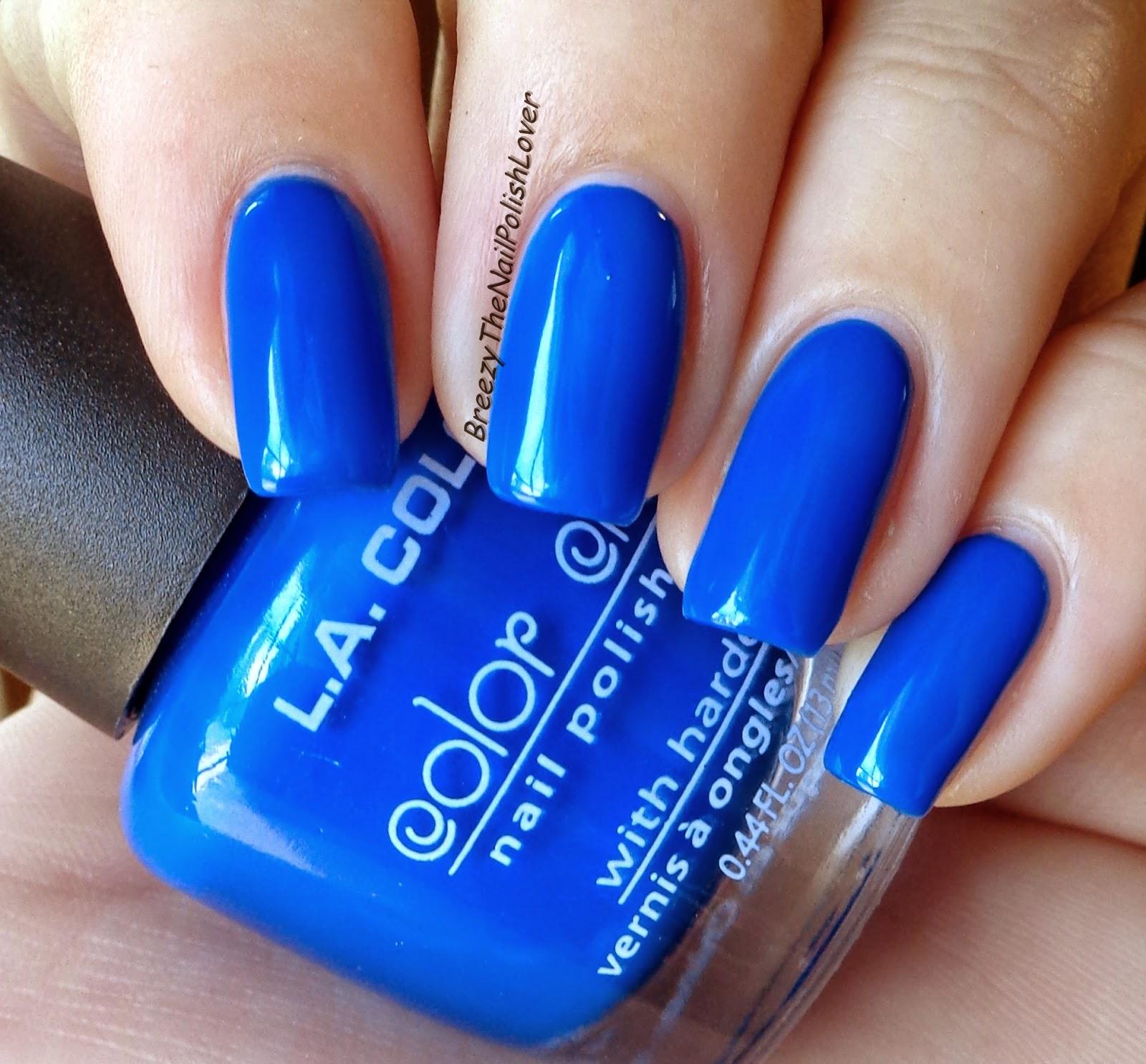 BreezyTheNailPolishLover: NEW L.A. Color Nail Polish Review and ...